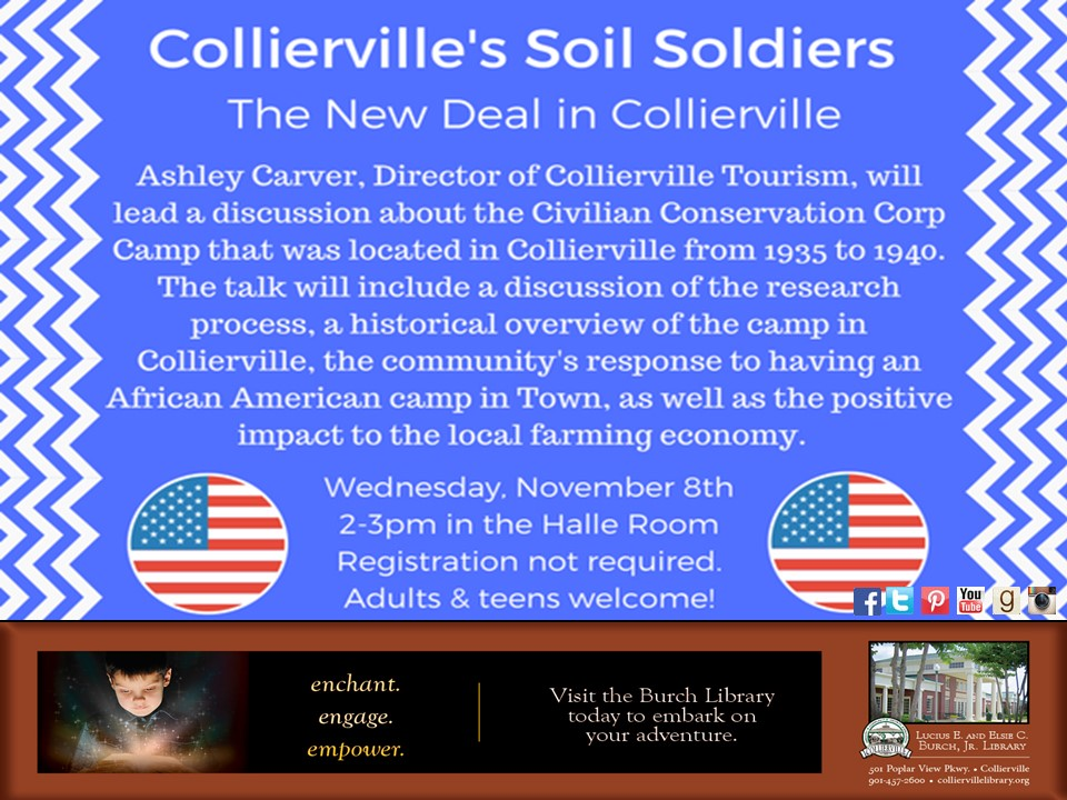 Collierville's Soil Soldiers - The New Deal in Collierville