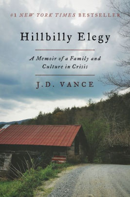 "Book Discussion Series: ""Hillbilly Elegy: A Memoir of a Family and Culture in Crisis"""