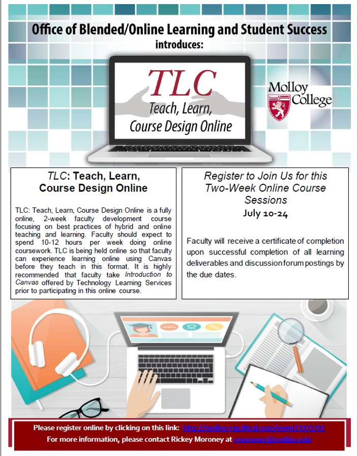 TLC: Teach, Learn, Course Design Online