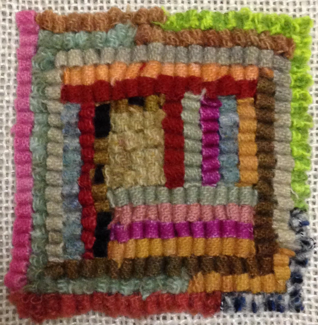 Introduction to Rug Hooking:  Make a Mug Rug