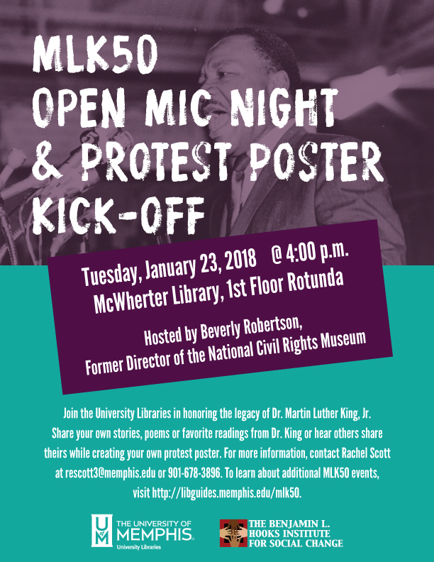 Open Mic / Protest Poster Night