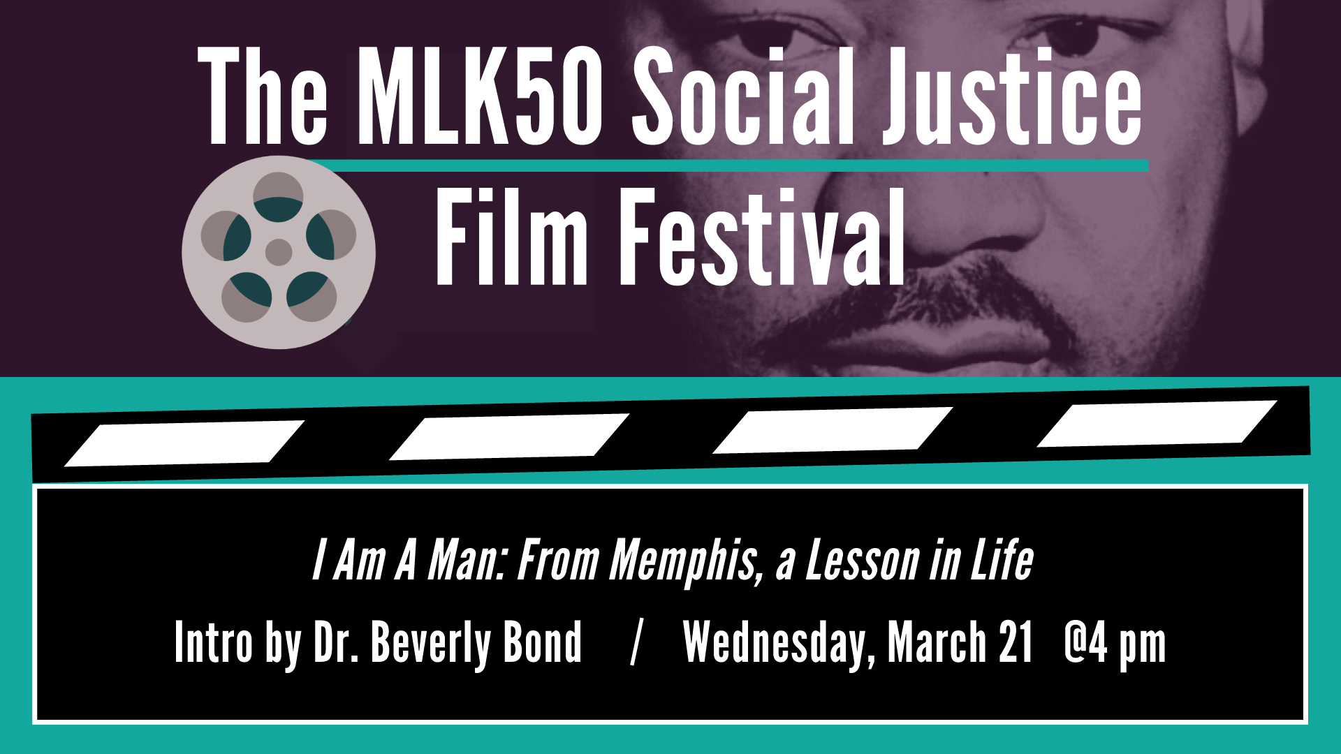 MLK50 Film Festival: I Am a Man: From Memphis, a Lesson in Life