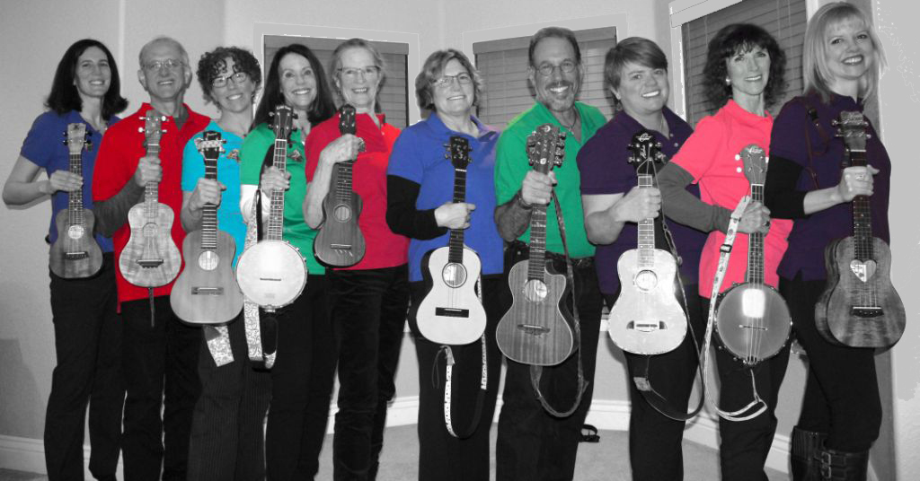 3rd Tuesday Lunchtime Concert Series Presents the Twisted Strings Ukulele Club