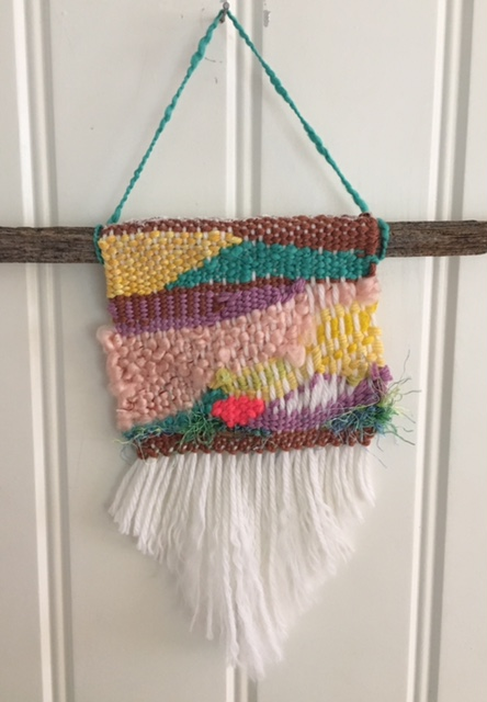 Free Form Weaving: Wall Hanging