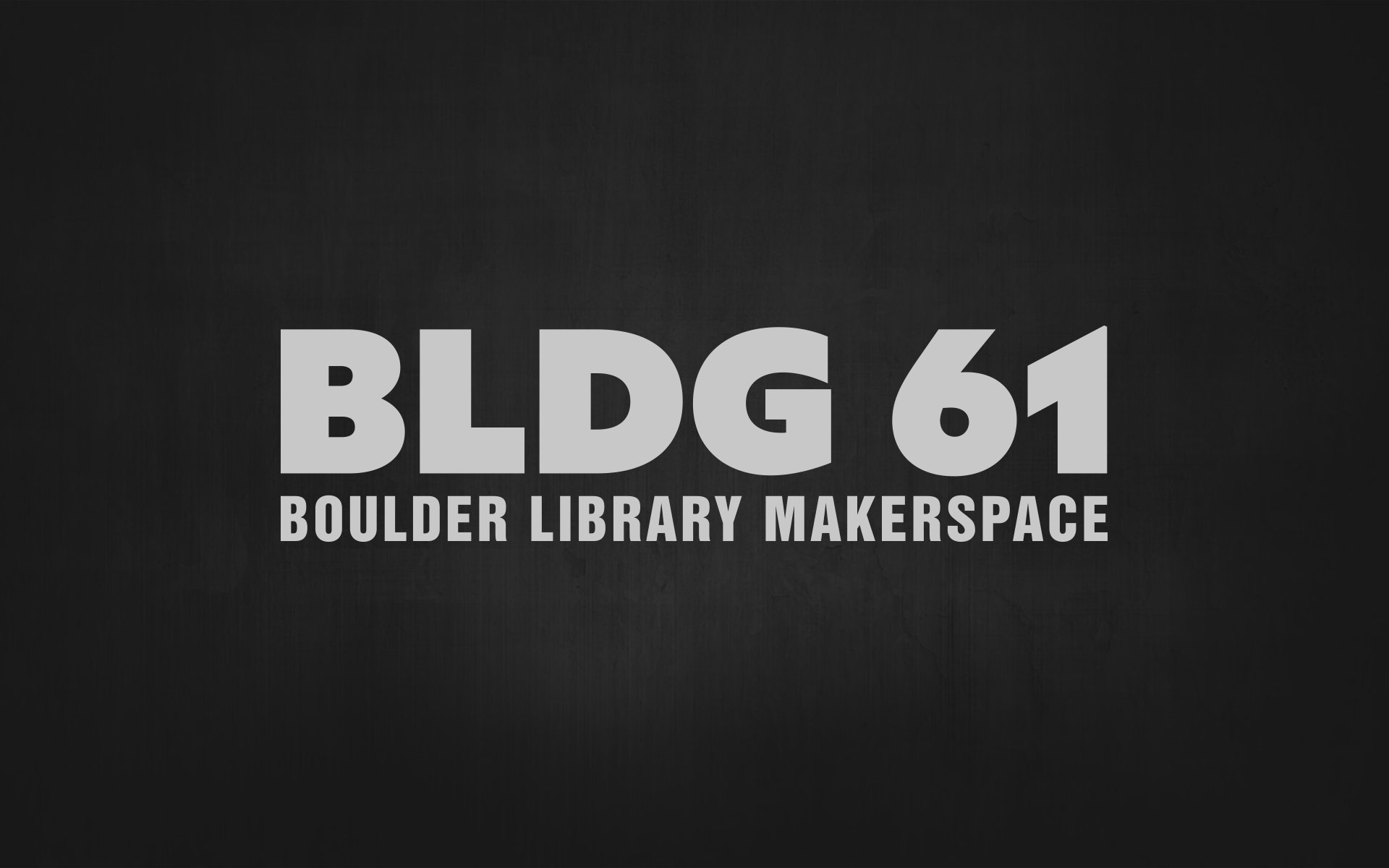 BLDG 61 Closed for Upgrades!