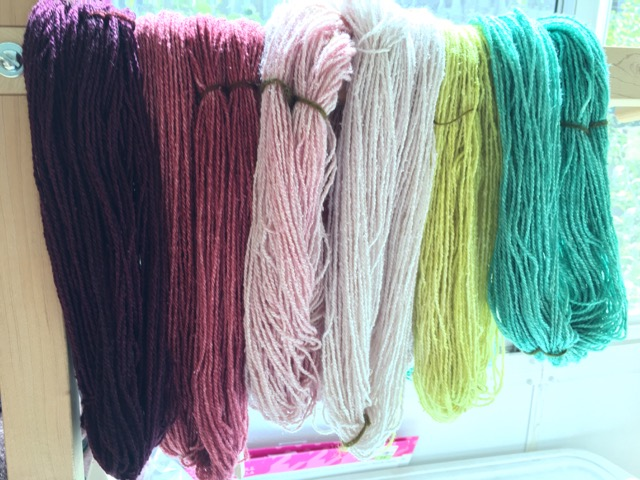 Fiber Arts: Acid Dyeing