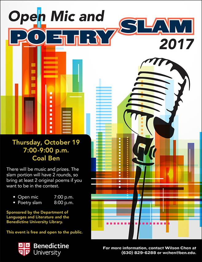 Open Mic and Poetry Slam 2017