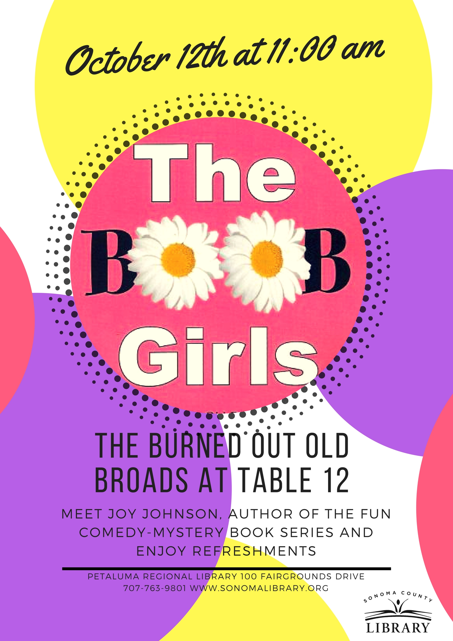 BOOB Girls Author Talk