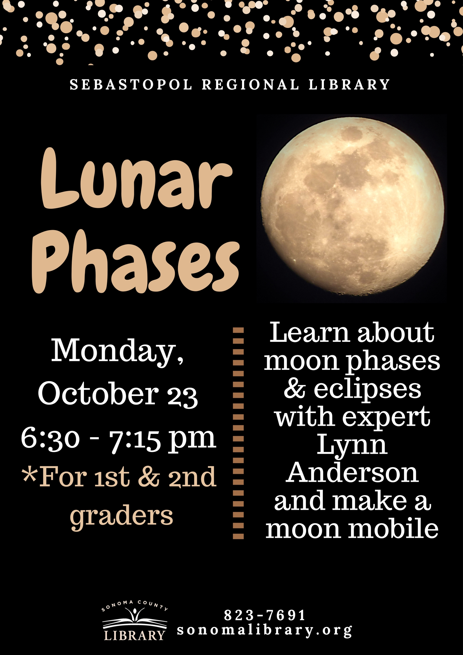 Stories and Space: Lunar Phases!