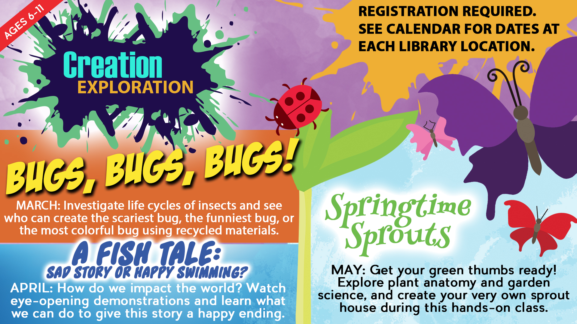 Creation Exploration: Bugs, Bugs, Bugs