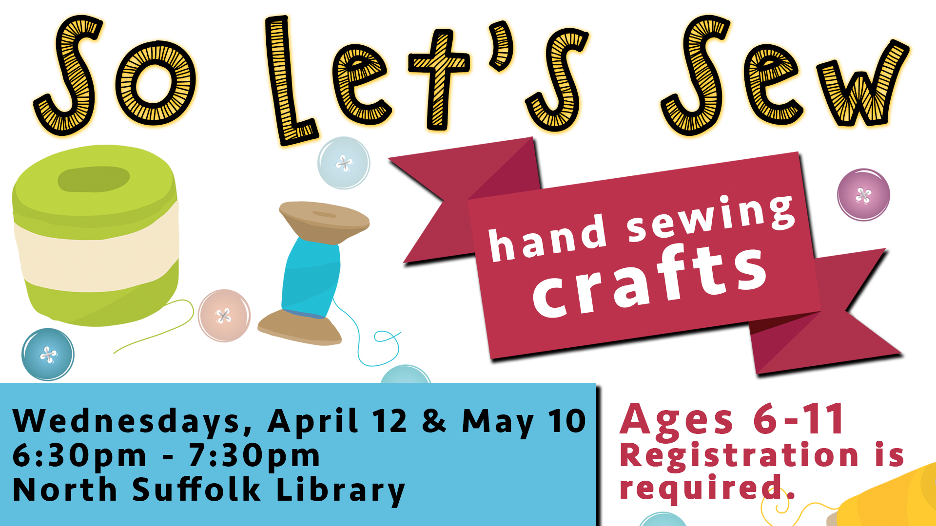 So Let's Sew--Hand Sewing Crafts
