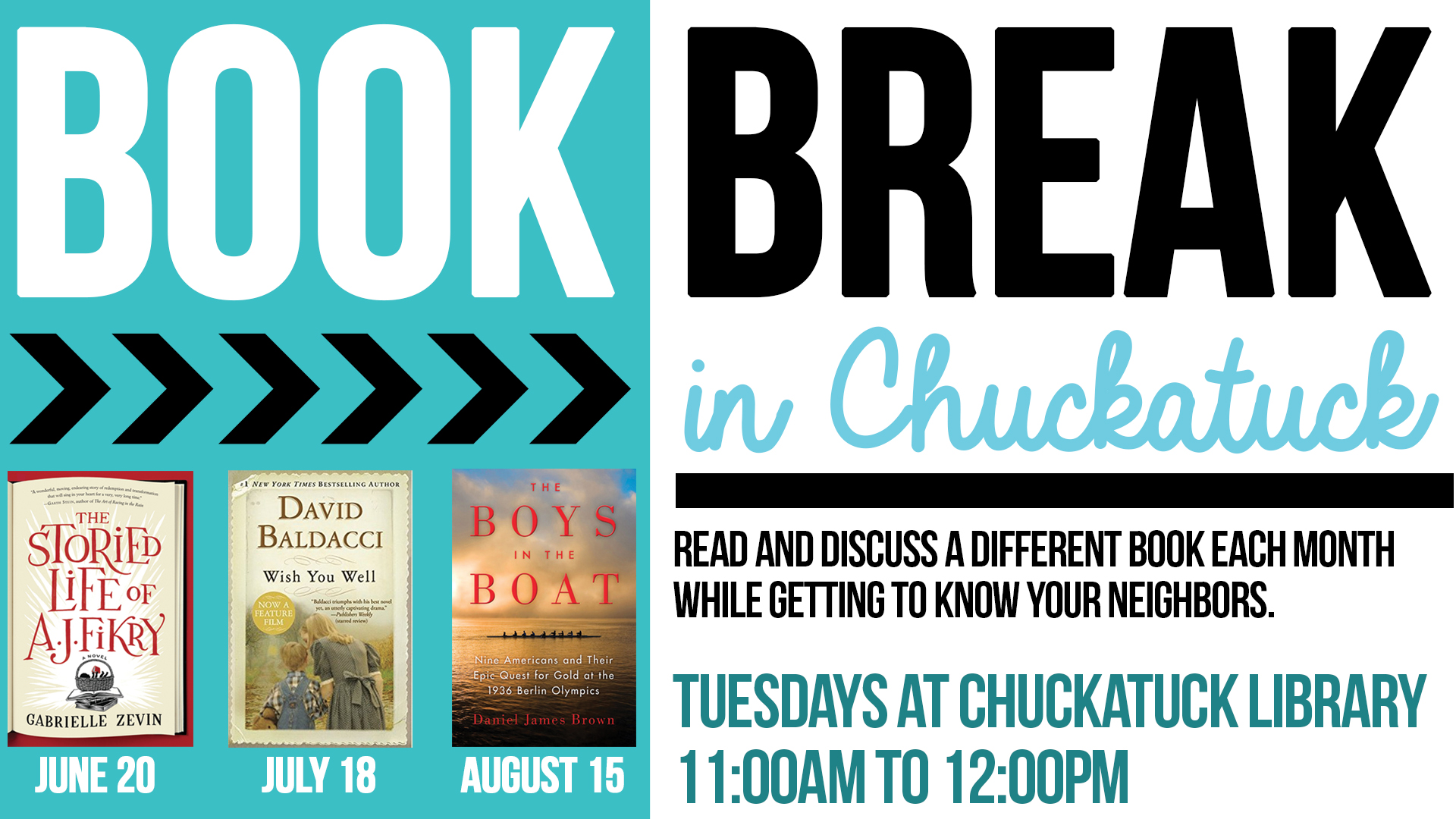 Book Break in Chuckatuck: The Boys in the Boat by Daniel Brown