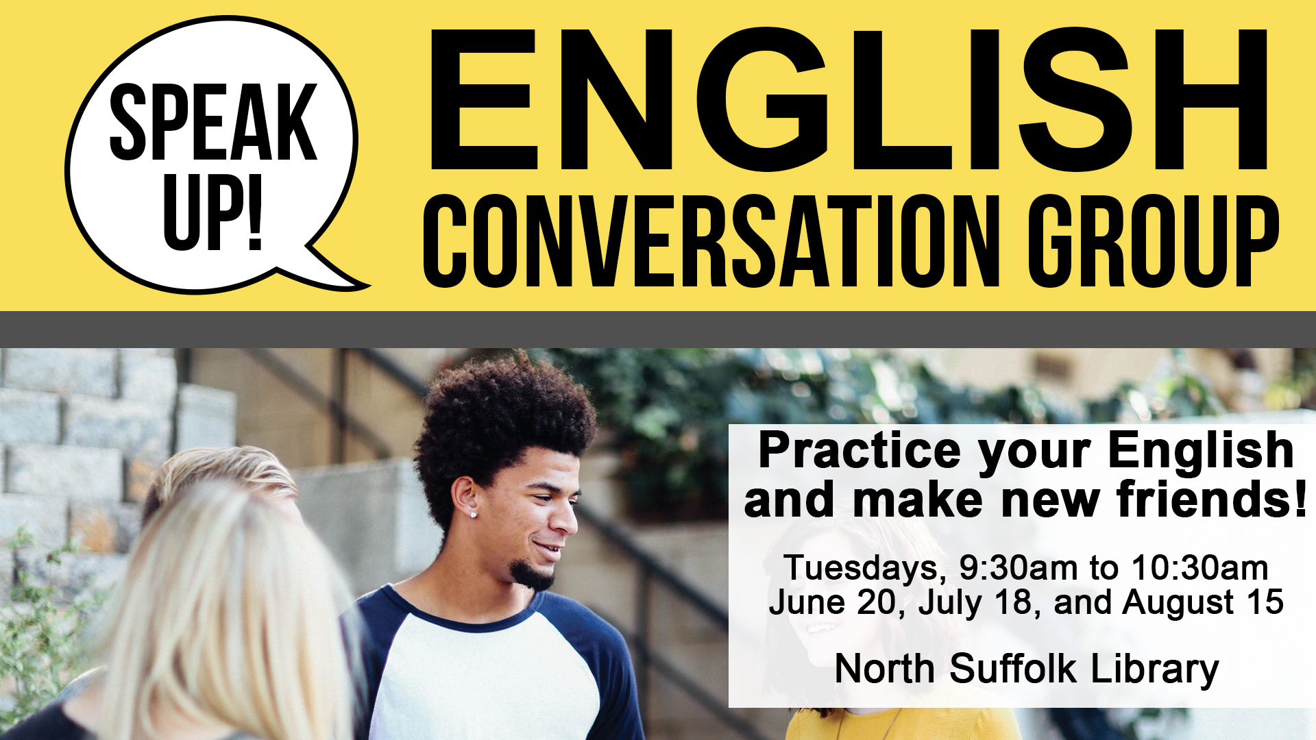 Speak Up! English Conversation Group