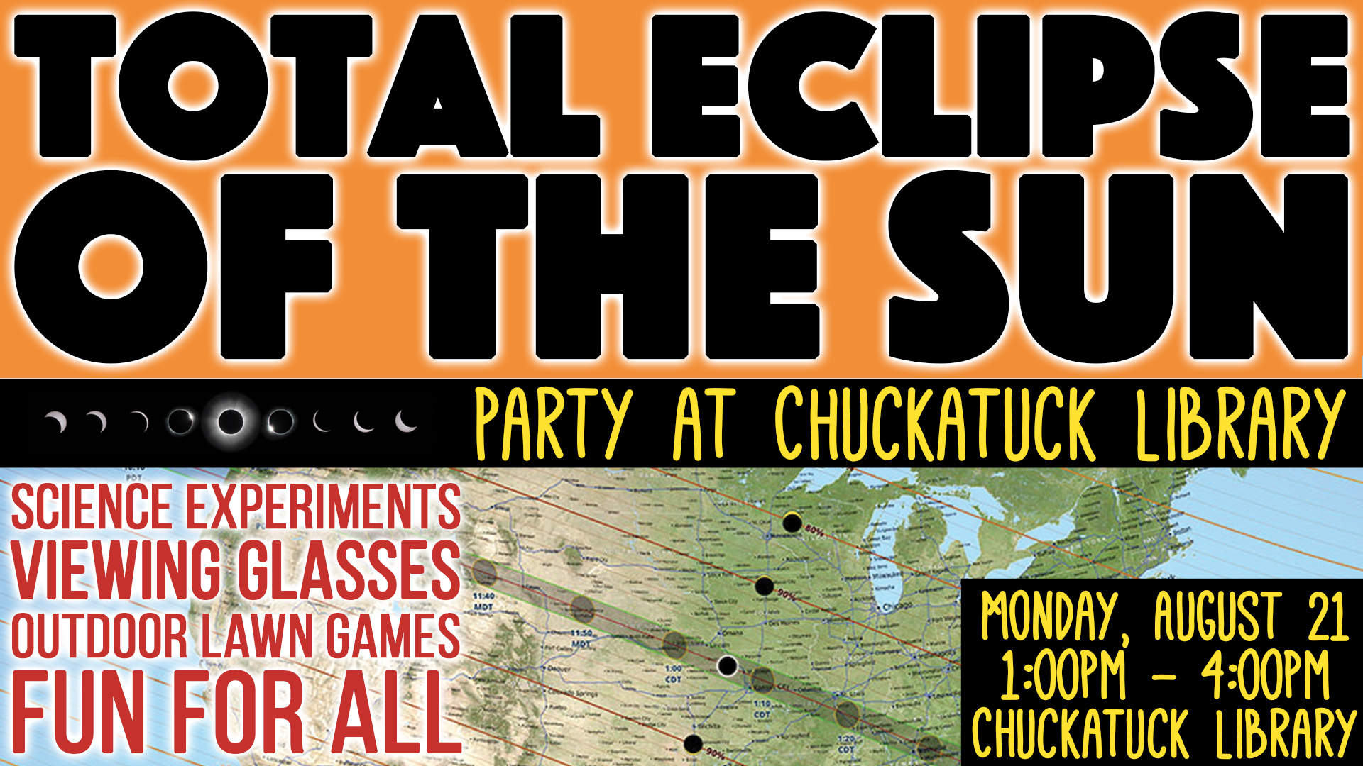 Total Eclipse of the Sun Party