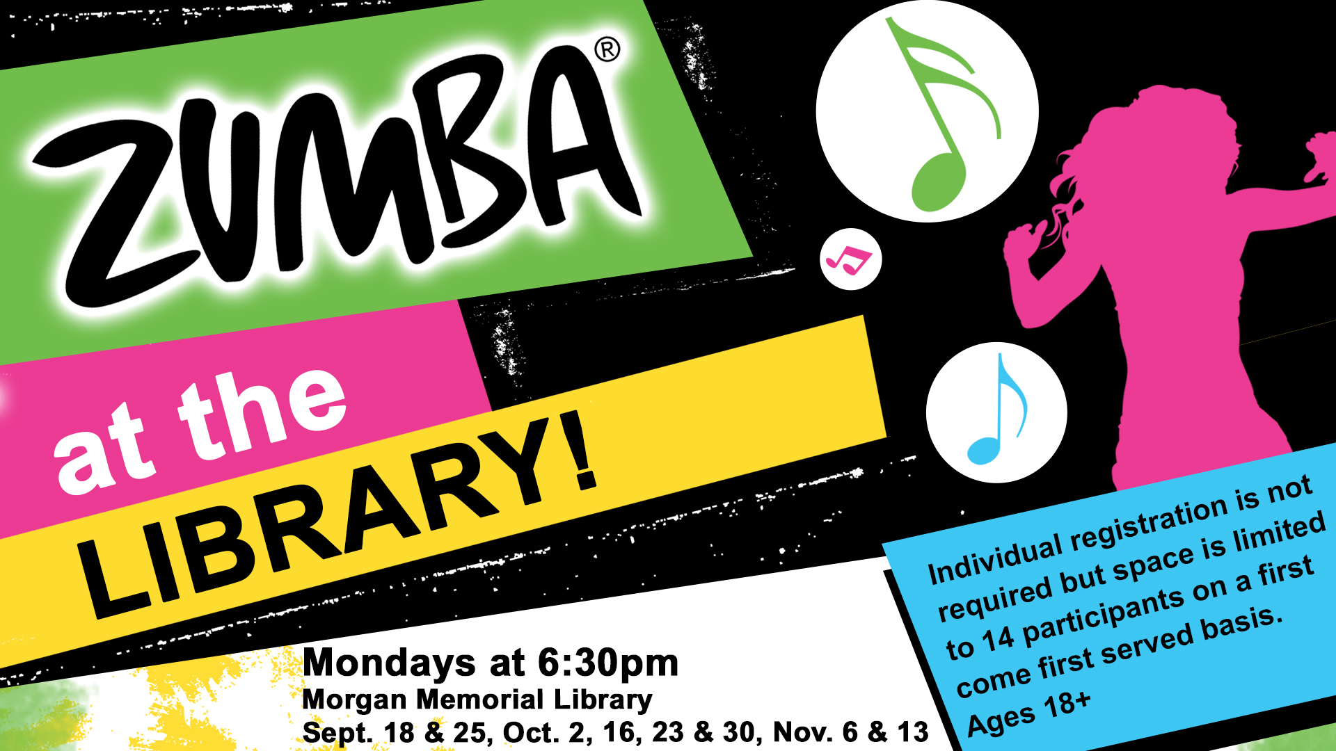 Zumba at the Library