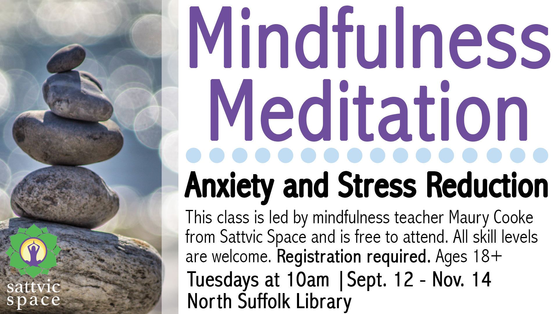Anxiety and Stress Reduction: Meditation at the Library