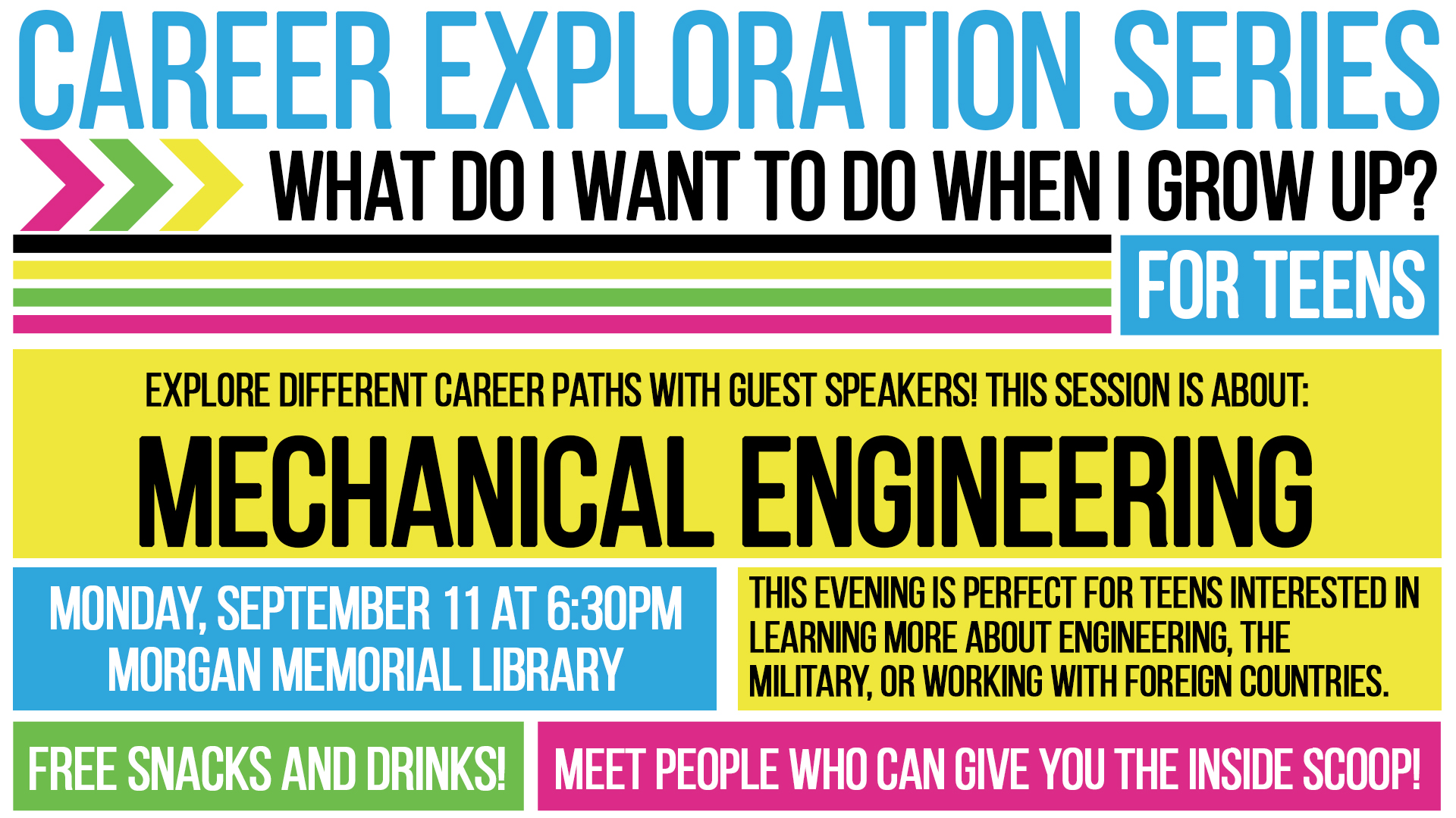 Career Exploration Series: What Do I Want To Do When I Grow Up? (For Teens!)