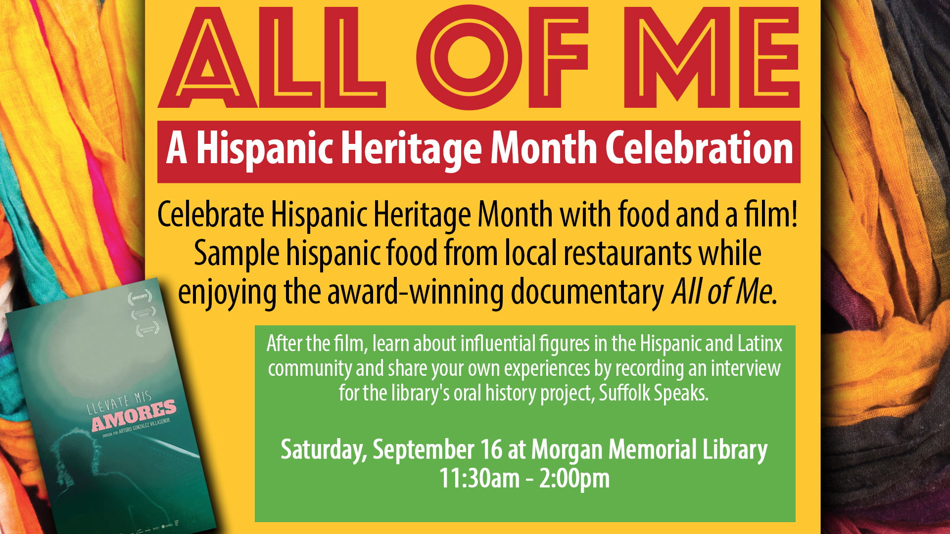 All of Me: A Hispanic Heritage Month Celebration