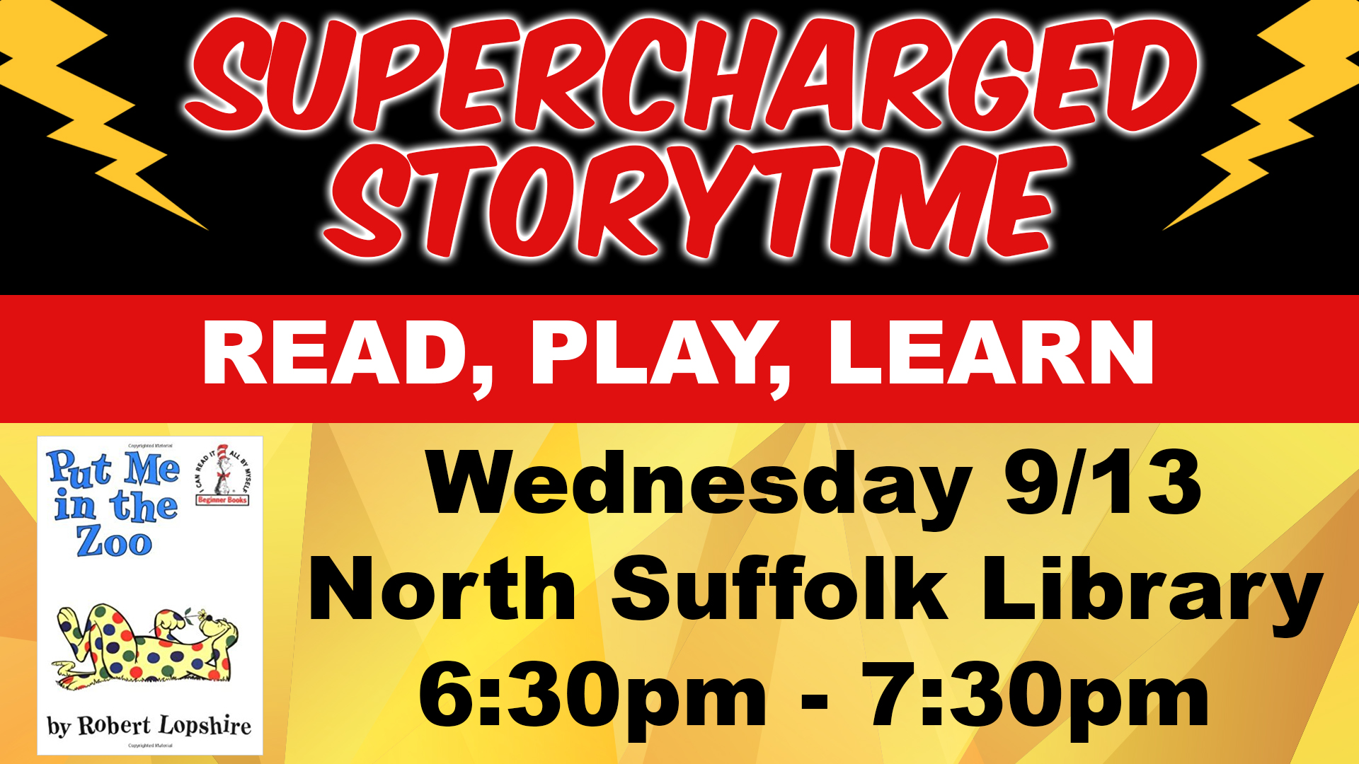 Supercharged Storytime