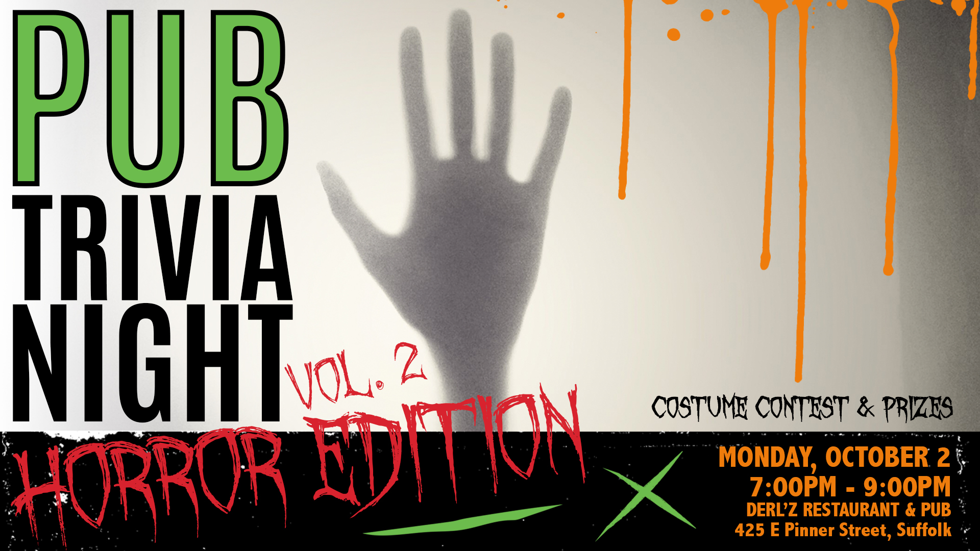 Pub Trivia Night: Volume II Horror