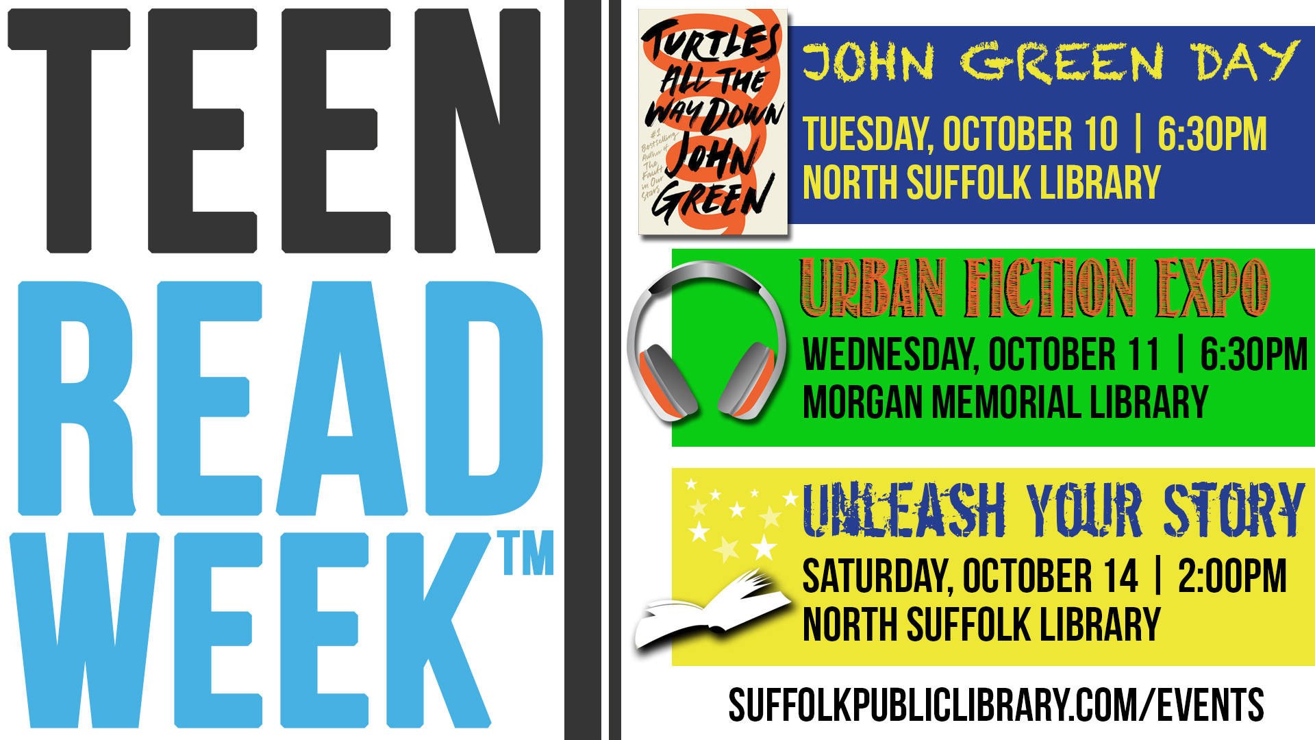 Teen Reads Week: John Green Day