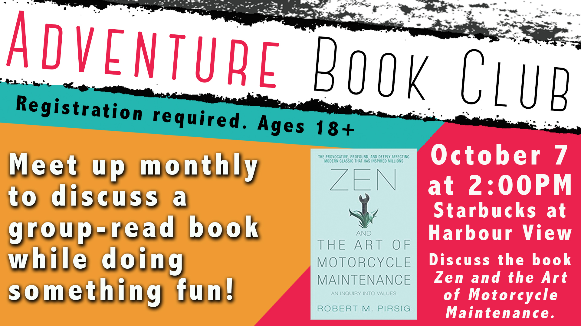 Adventure Book Club: Zen and the Art of Motorcycle Maintenance (Parts 1&2)