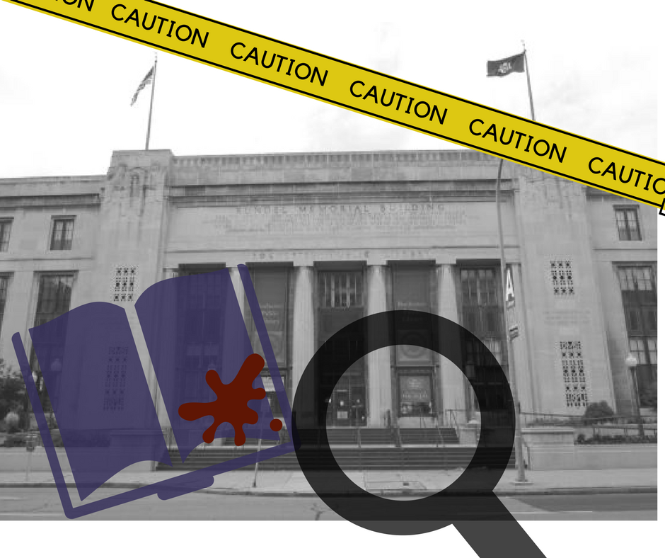 Murder Mystery at the Central Library