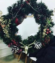 Create a Winter Wreath with Artist Shannon Halligan