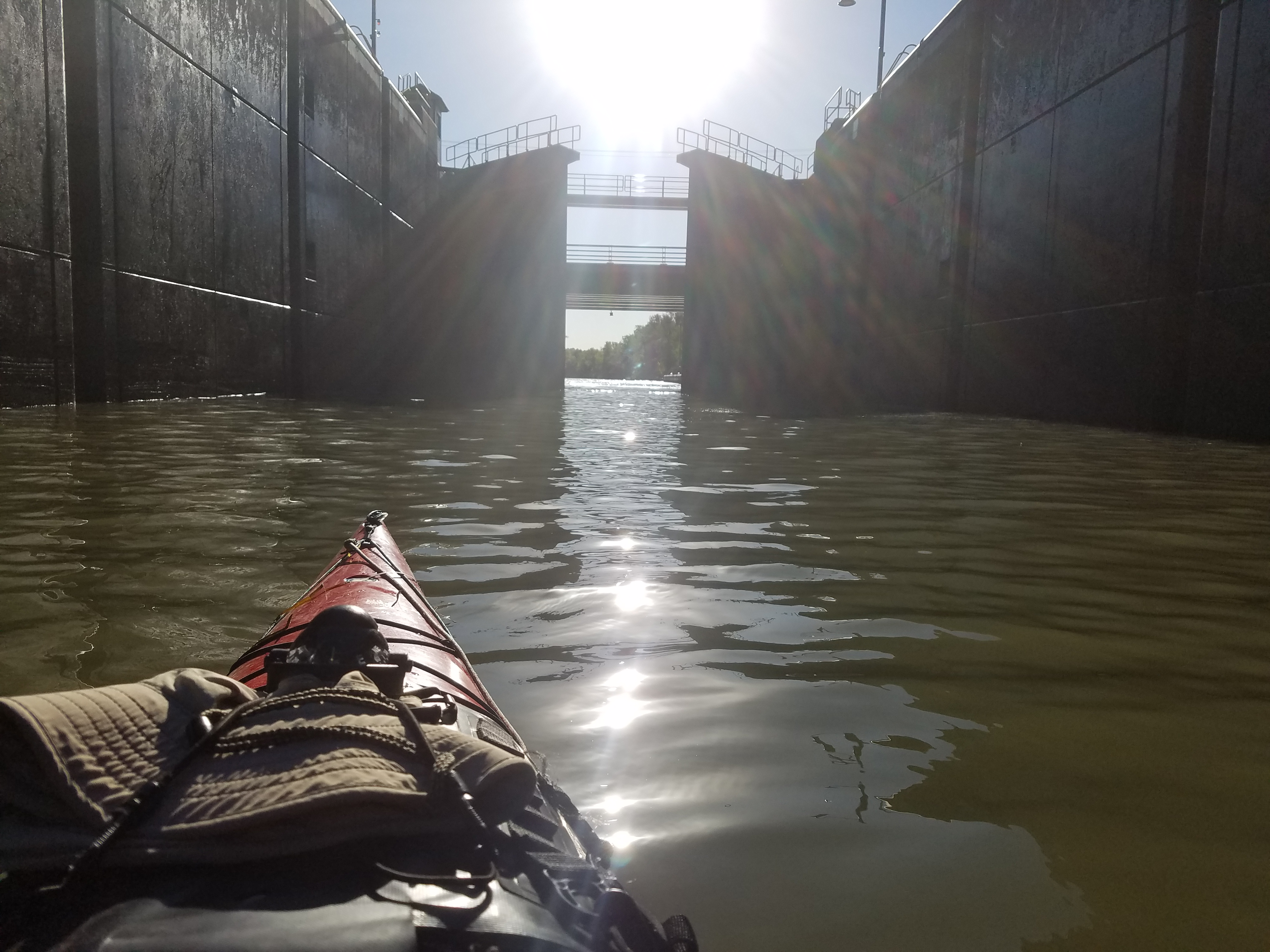 Paddling the Erie Canal*