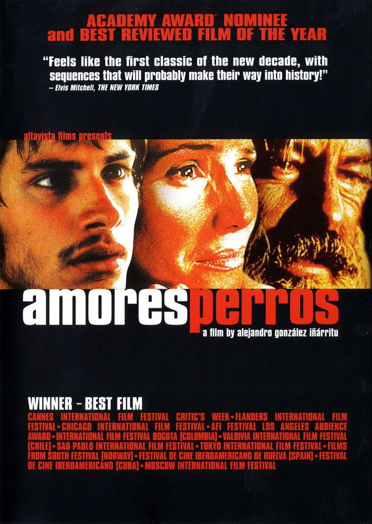 FILM SHOWING: AMORES PERROS (CANCELLED)