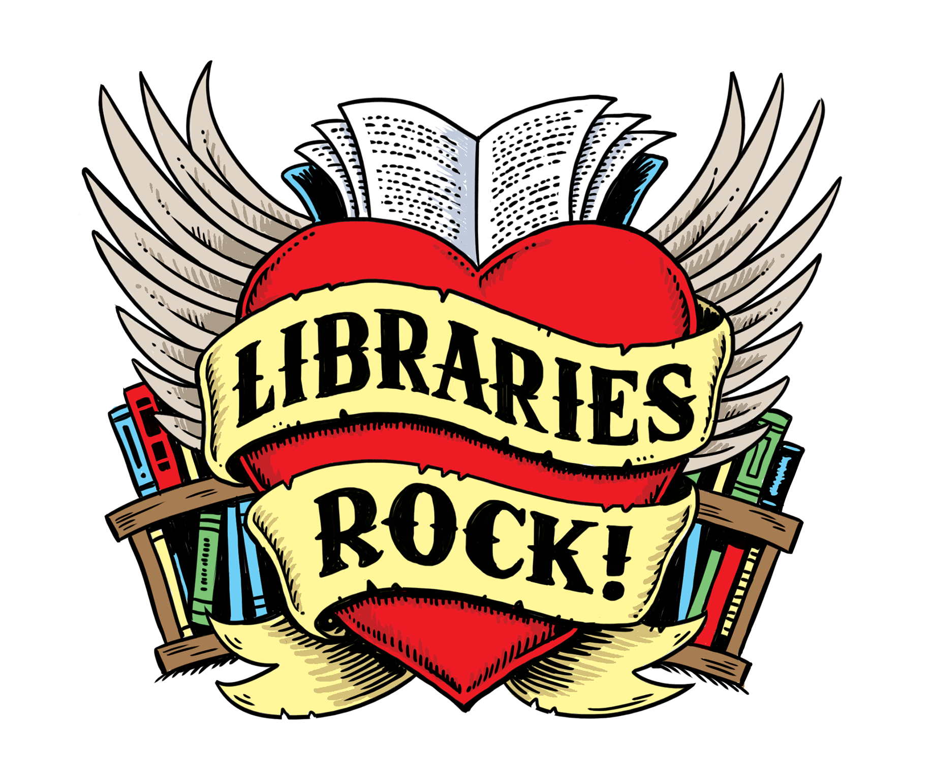 Libraries Rock! Summer Reading Game for Grades 6-12