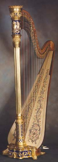 Brighton Symphony's Rococo Harp Concert: Four Sonatas for Harp by Philippe-Jacques Meyer