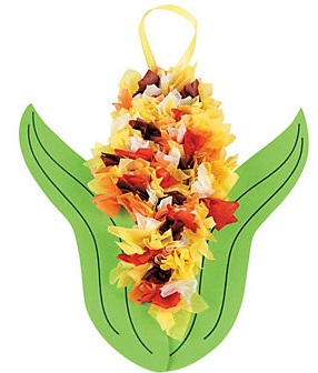 Tween Craft: Festival Fall Corn Craft