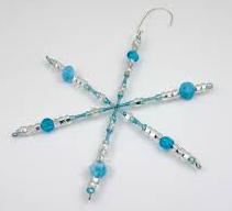 Teen Craft: Crystal-like Snowflakes