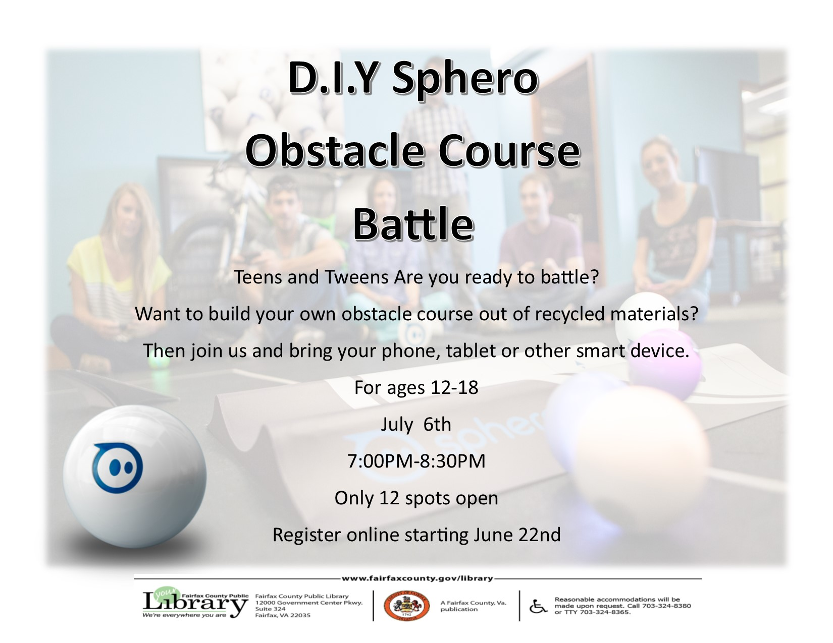 D.I.Y Sphero Obstacle Course Battle