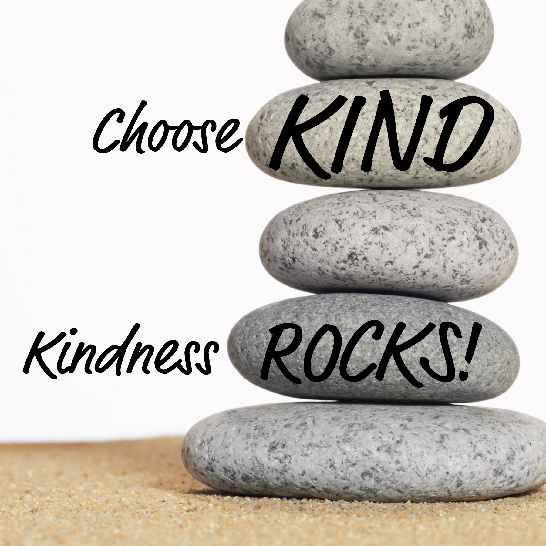Choose Kind: Kindness Rocks Project