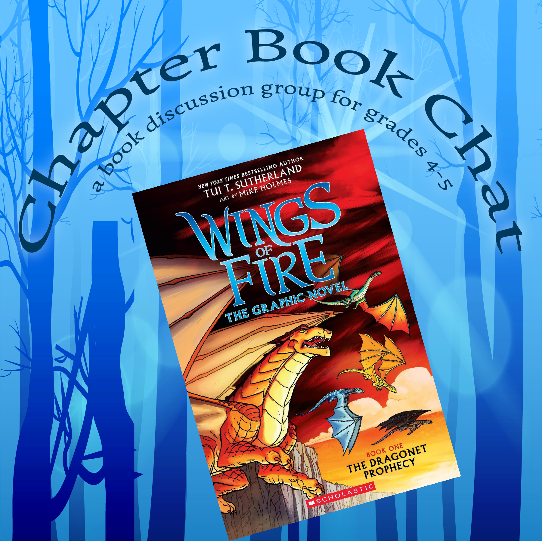 "Chapter Book Chat: ""The Dragonet Prophecy"""
