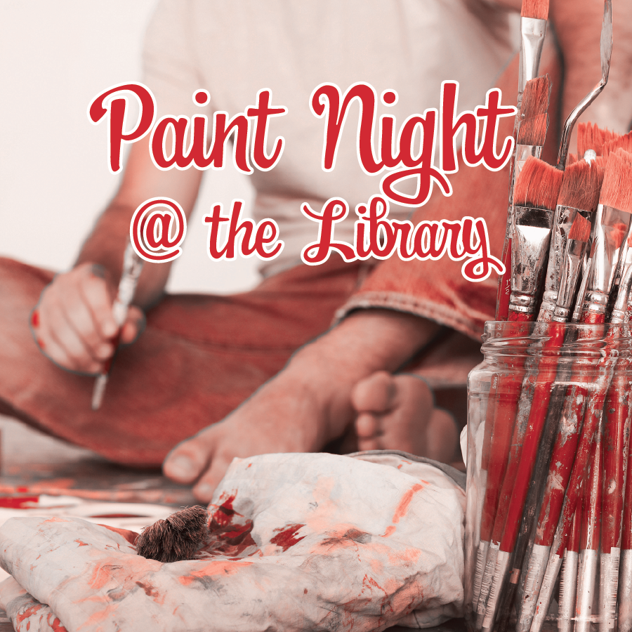 Paint Night @ the Library