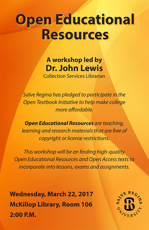 Open Educational Resources (OER's) Workshop