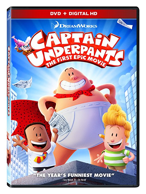 Afternoon Movie: Captain Underpants!