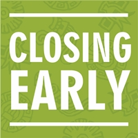 Library will Close Early at 5pm