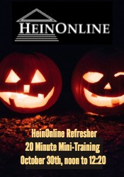 Mini-Training: HeinOnline Refresher