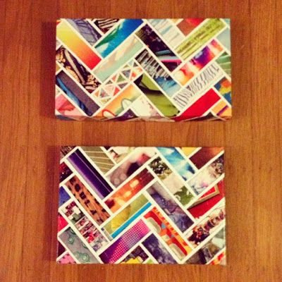 Crafternoons @ the Library: Geometric Pattern Collage