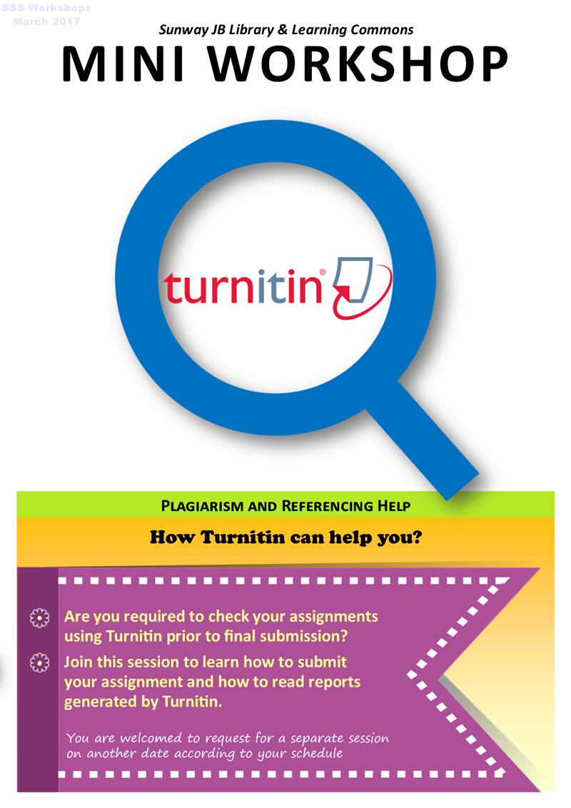How Turnitin can help you?