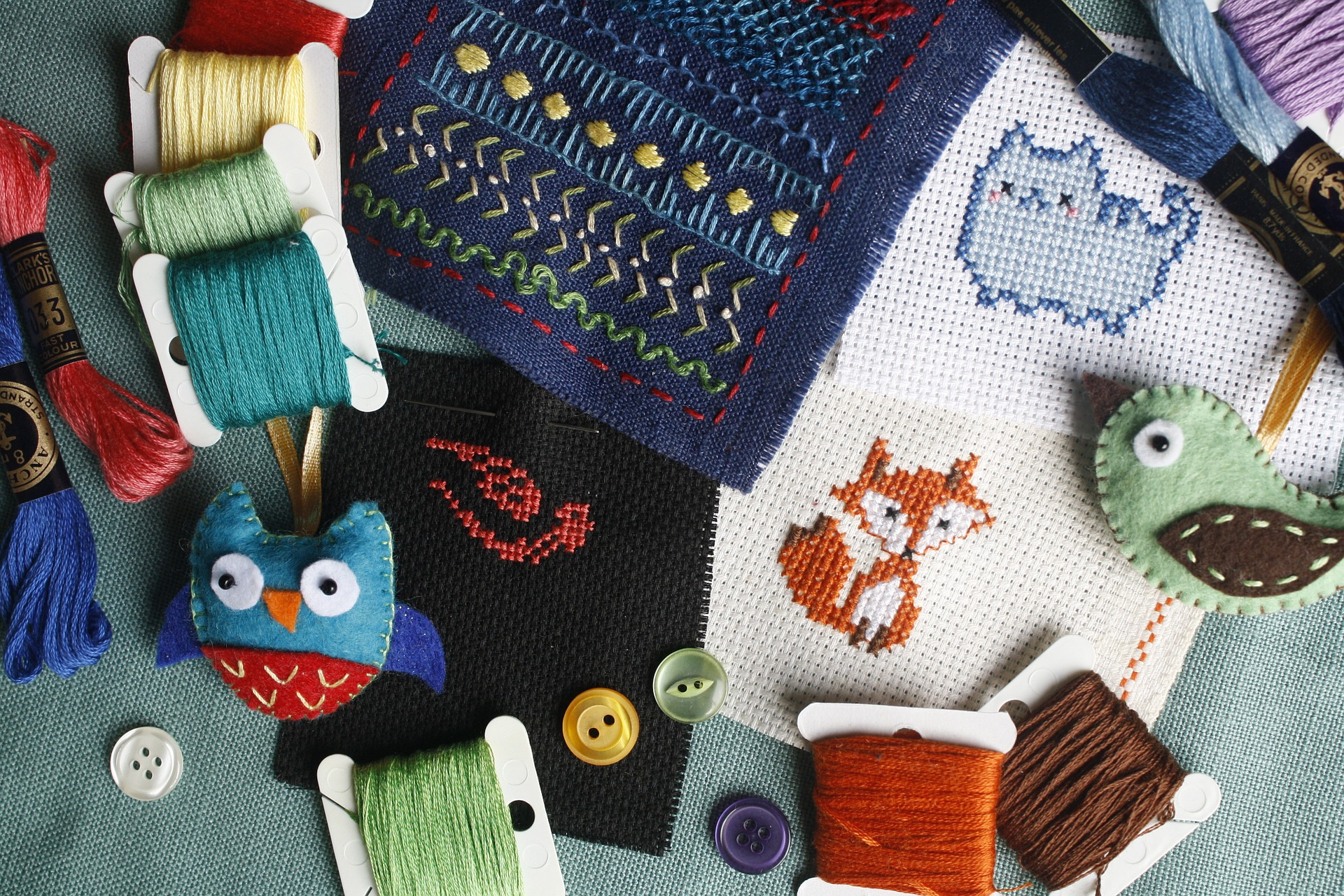 Thursday's Threads Cross-Stitch Class