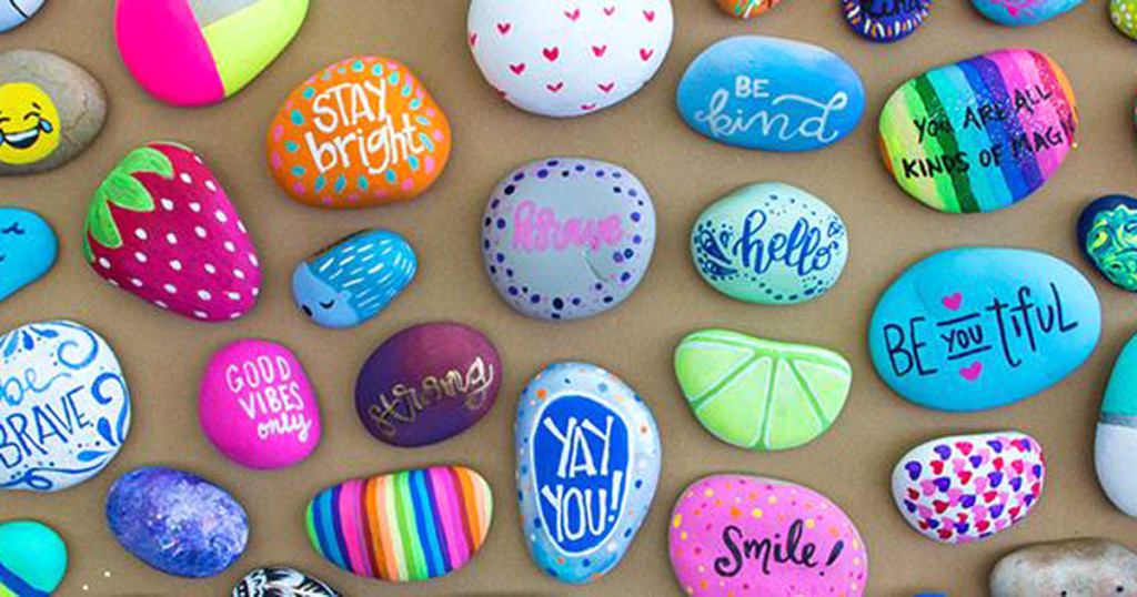 Paint a Friendship Rock