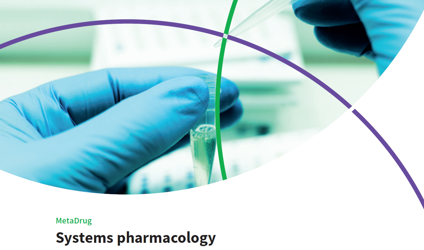 Webinar: Intro and demo to MetaDrug: Systems pharmacology