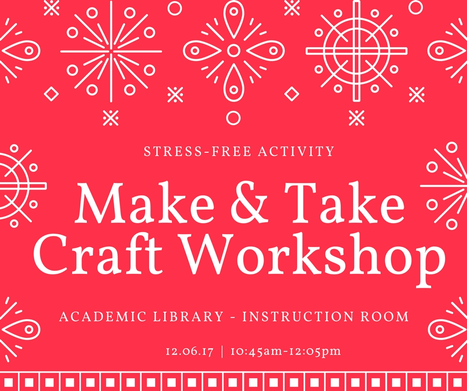 Make & Take Seasonal Craft