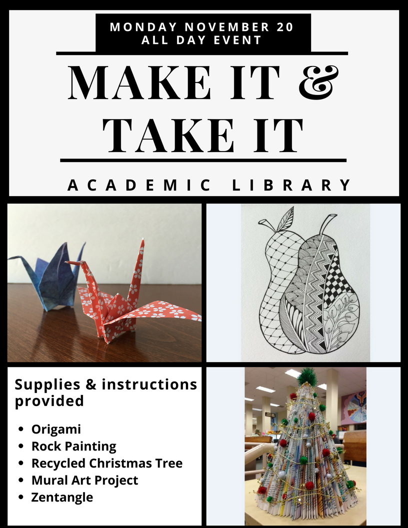 Make it & Take it @ the Library