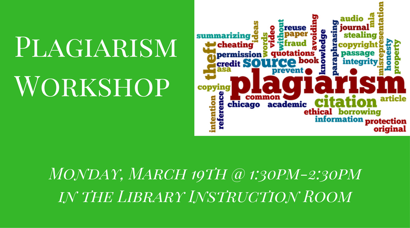 Plagiarism Workshop